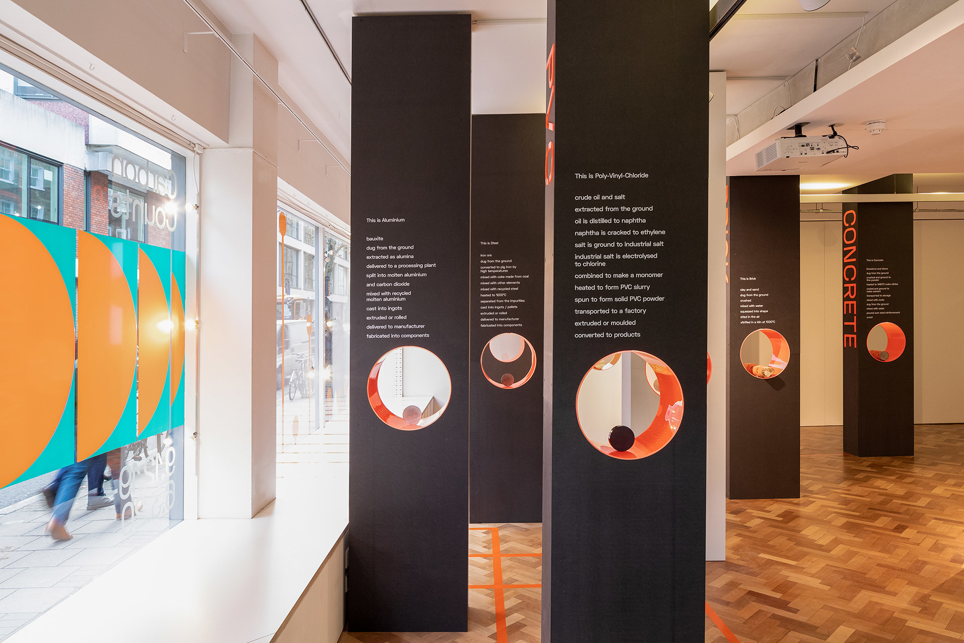 Main View of Carbon Counts Exhibition