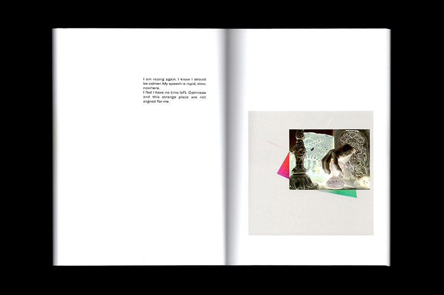 Book spread from So to Speak by Steffi Klenz published by Morel Books