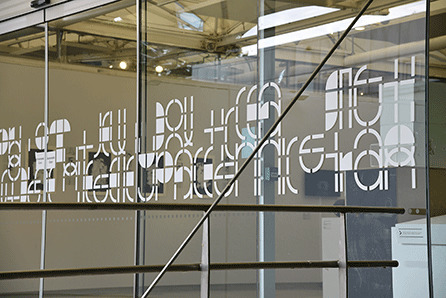 Window graphic by Studio Mothership
